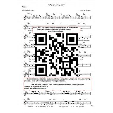 Zawierucha - nuty (prymka, akordy, tekst)