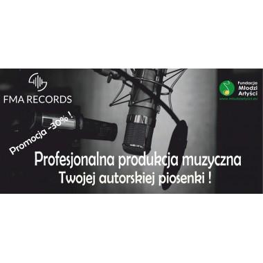 FMA Records - profesjonalna produkcja muzyczna Twojej piosenki