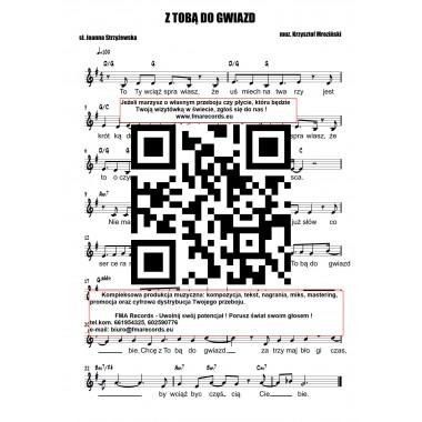 Z Tobą do gwiazd - nuty (prymka, akordy, tekst)